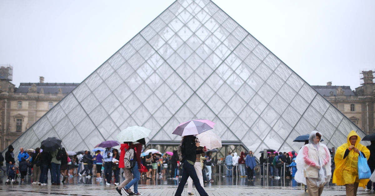 About 10 million people visited the Louvre last year.</p>