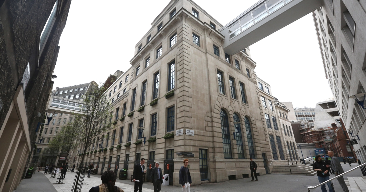 A general view of the London School of Economics, April 15, 2013.</p>