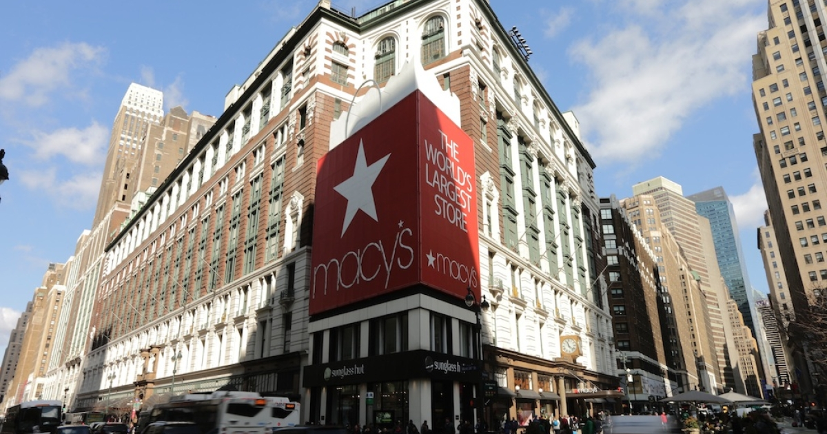 Macy's at Herald Square in New York City.</p>