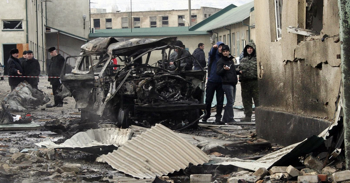 Violence takes place almost daily in Dagestan's capital Makhachkala.</p>