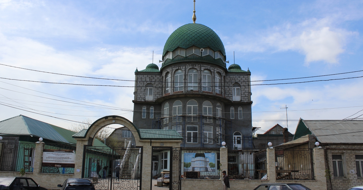 The Dagestan mosque Tamerlan Tsarnaev frequented in 2012.</p>