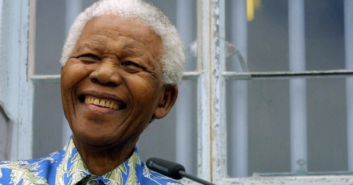 Nelson Mandela in 2003.</p>