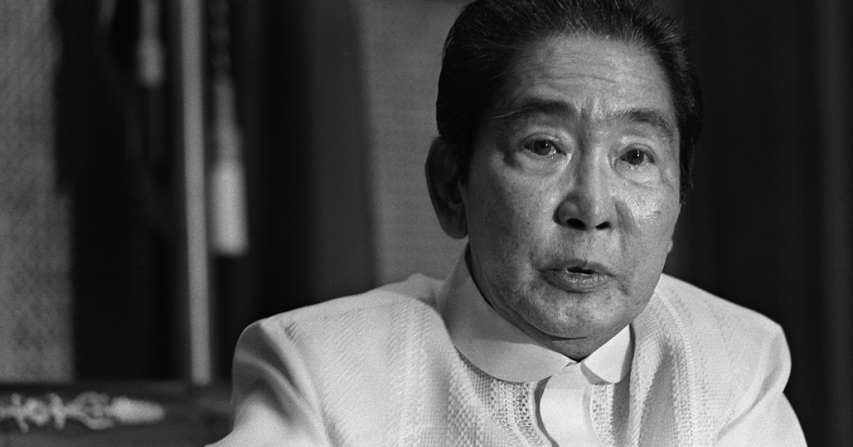 President Ferdinand Marcos was dictator of the Philippines from 1965 to 1986.</p>