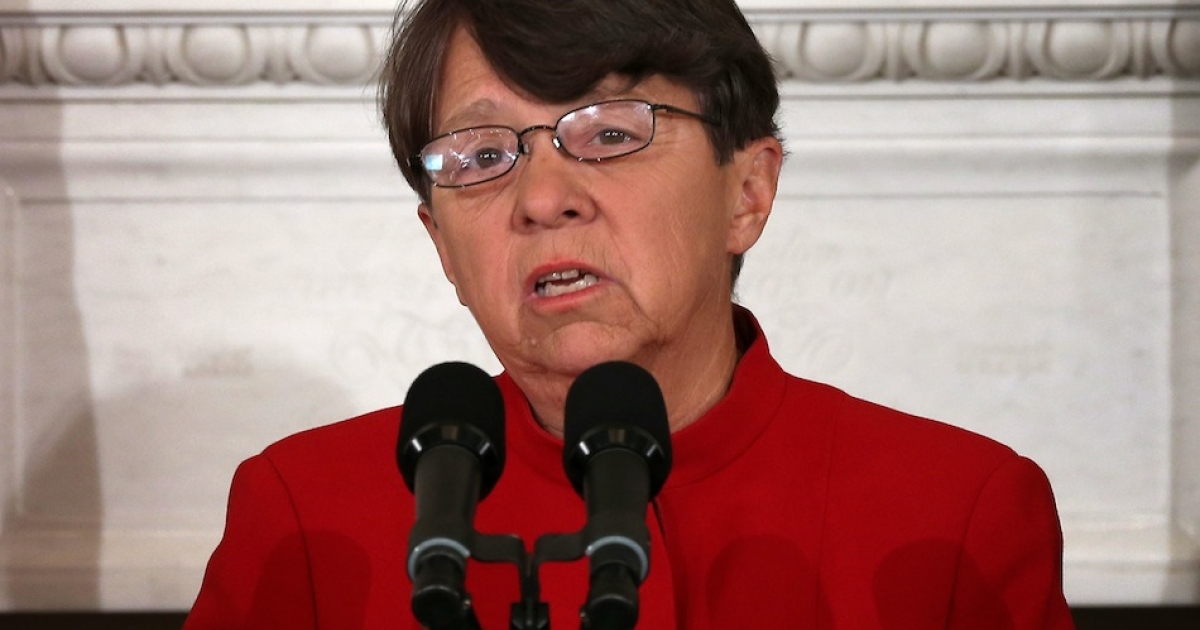 Former federal prosecutor Mary Jo White was confirmed by the Senate Monday to be the new head of the Securities and Exchange Commission.</p>