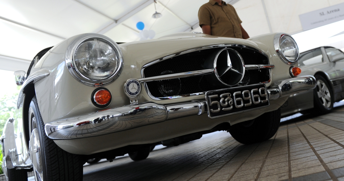 Should the Mercedes-Benz parent company pay for its role in disappearances?</p>