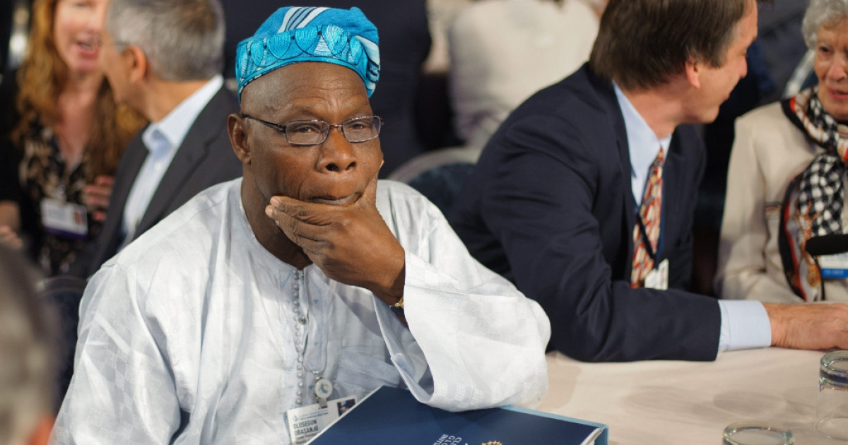 Olusegun Obasanjo, UN special envoy for Africa and former President of Nigeria had warnings in the midst of bright speculation on Africa's future.</p>