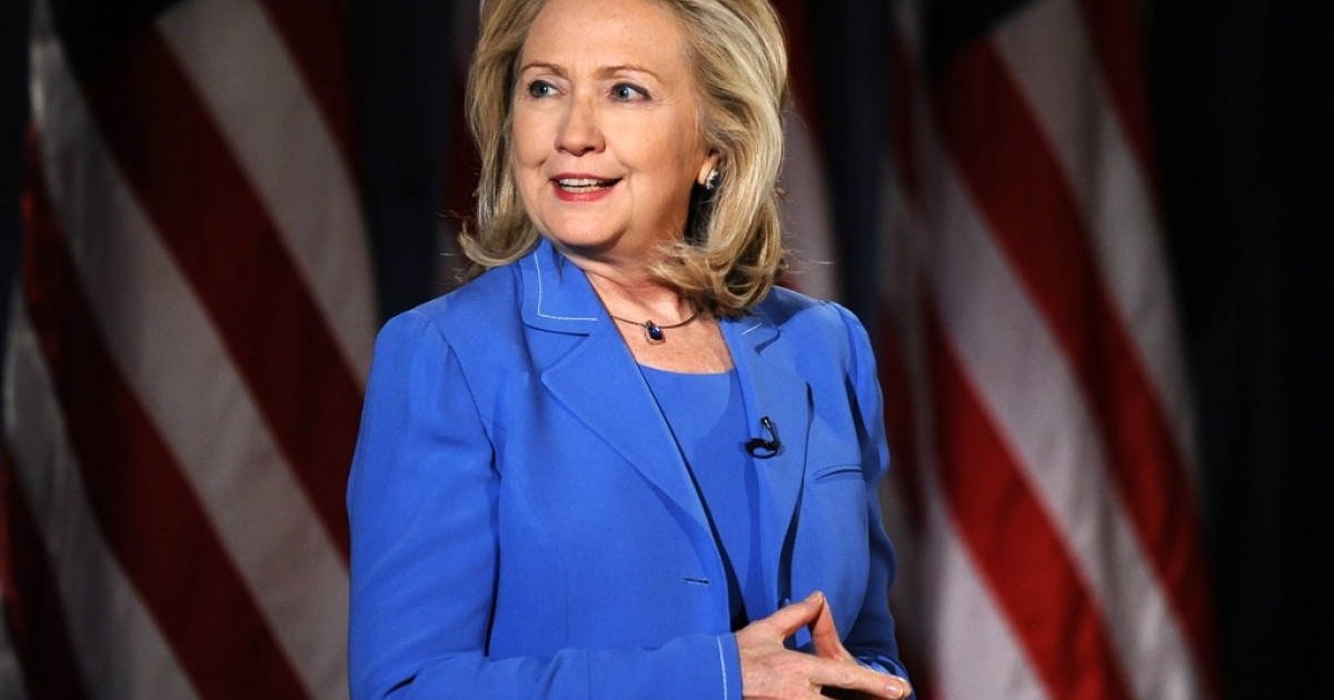 Former US Secretary of State Hillary Clinton says she is both