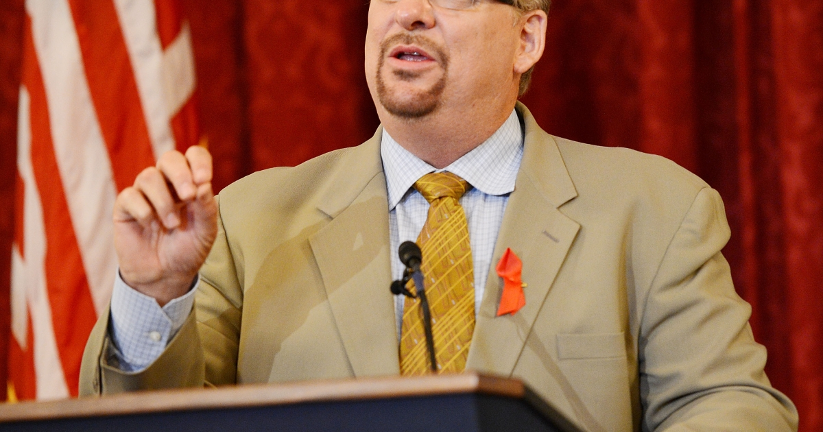 Pastor Rick Warren attends The Elton John AIDS Foundation and UNAIDS breakfast at the Russell Senate Office Building on July 24, 2012 in Washington, DC.</p>
