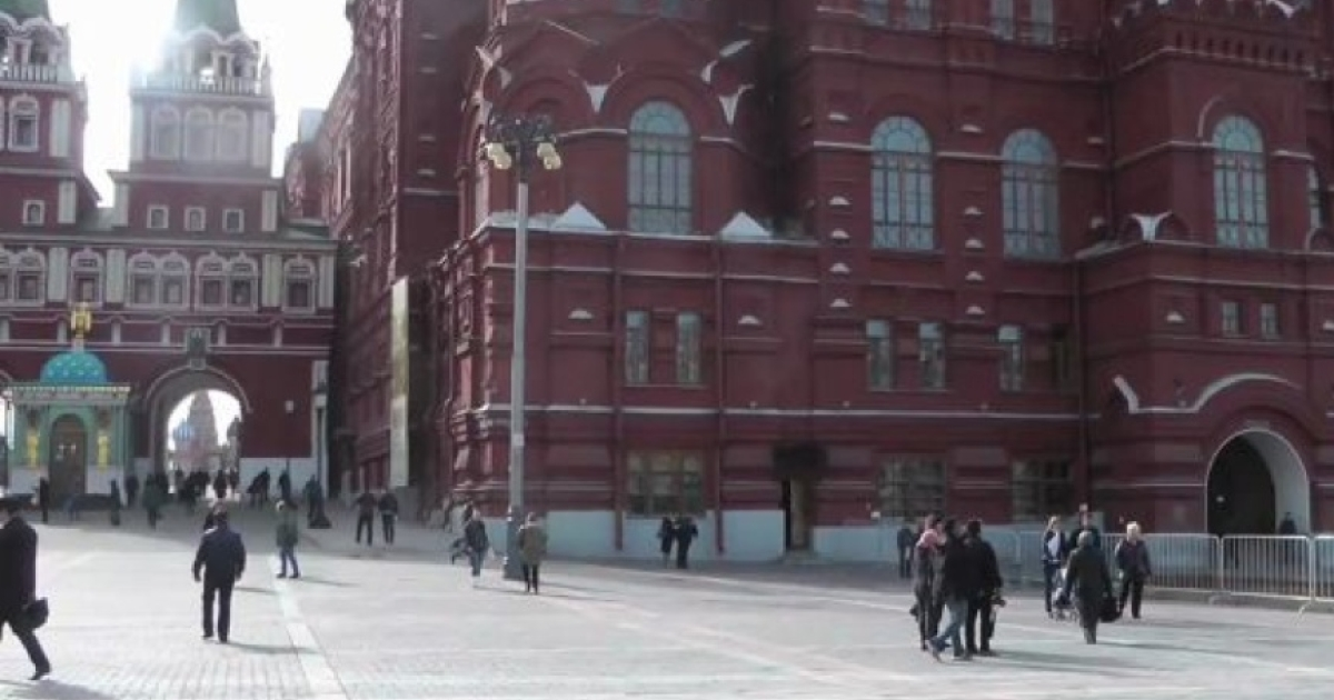 Russians react to the Boston Marathon bombings.</p>