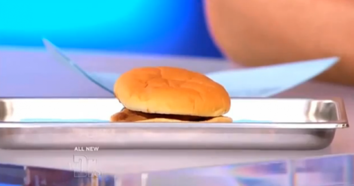 A McDonald's burger survived 14 years in a man's coat pocket and looks pretty much the same as it always did.</p>