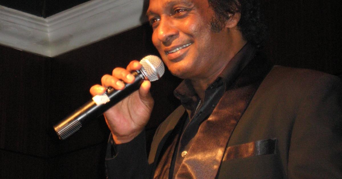 Malaysian-born Mark Sylvester, better known as Asia's Tom Jones.</p>