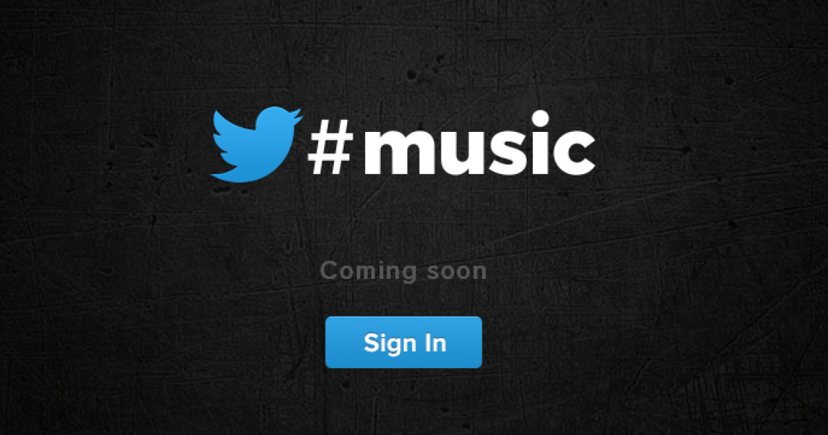 Twitter Music: Coming soon to Twitter users across the globe.</p>