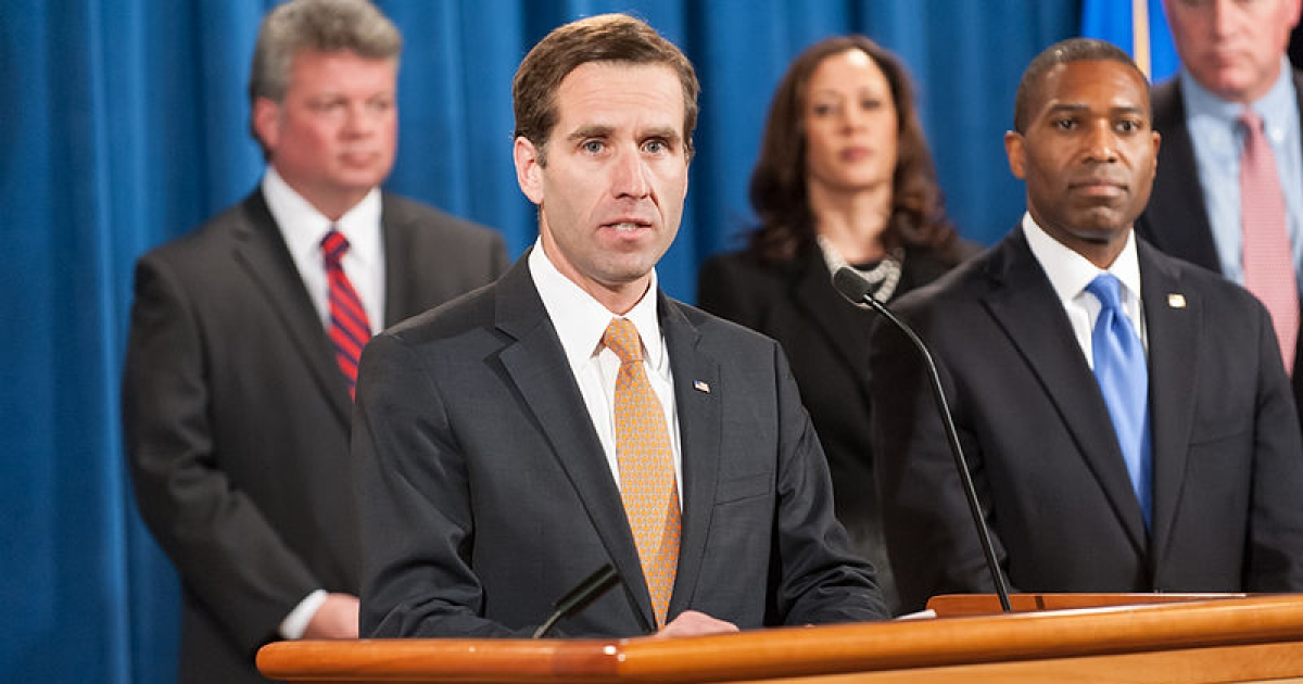 Beau Biden, the Delaware Attorney General and the son of US Vice President Joe Biden.</p>