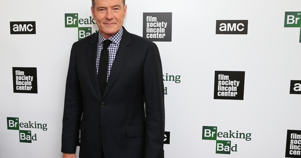 'Breaking Bad' star Bryan Cranston attends The Film Society of Lincoln Center and AMC celebration of the hit TV show's final season on July 31, 2013 in New York City.</p>