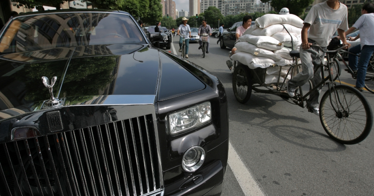 China growing nouveau riche class delights in exotic (or peculiar) vices.</p>