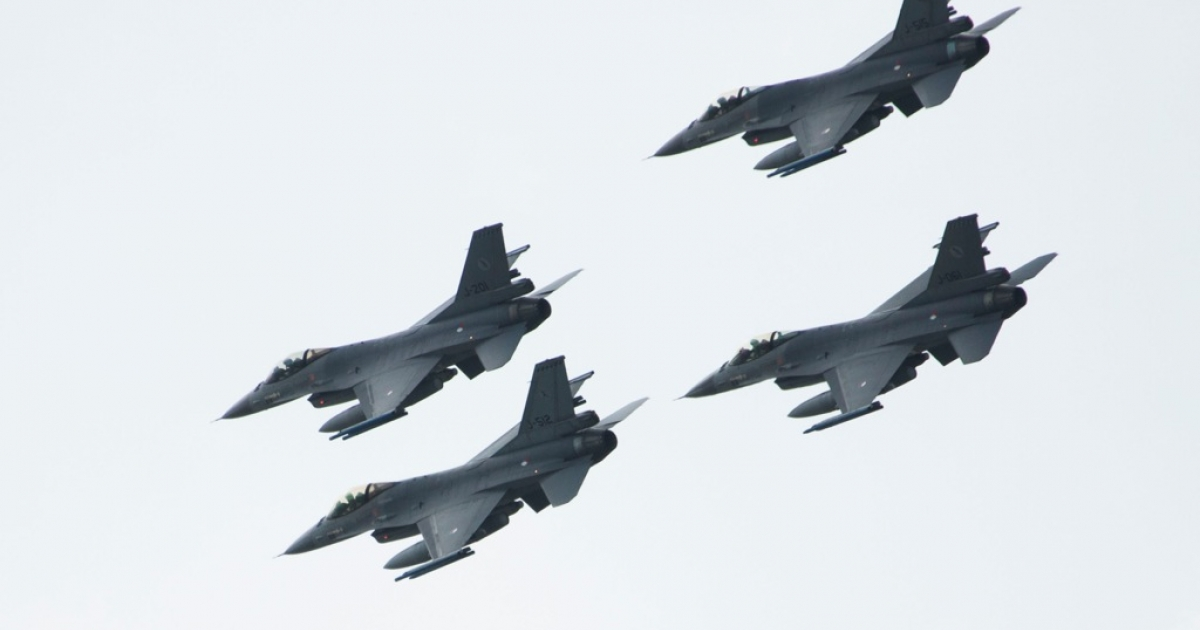 Lockheed Martin sent 20 F-16C/D fighter jets (pictured above) to the Egyptian Air Force in 2010.</p>