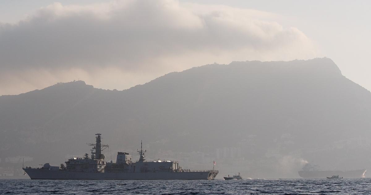 HMS Westminster arrived in Gibraltar on Monday.</p>