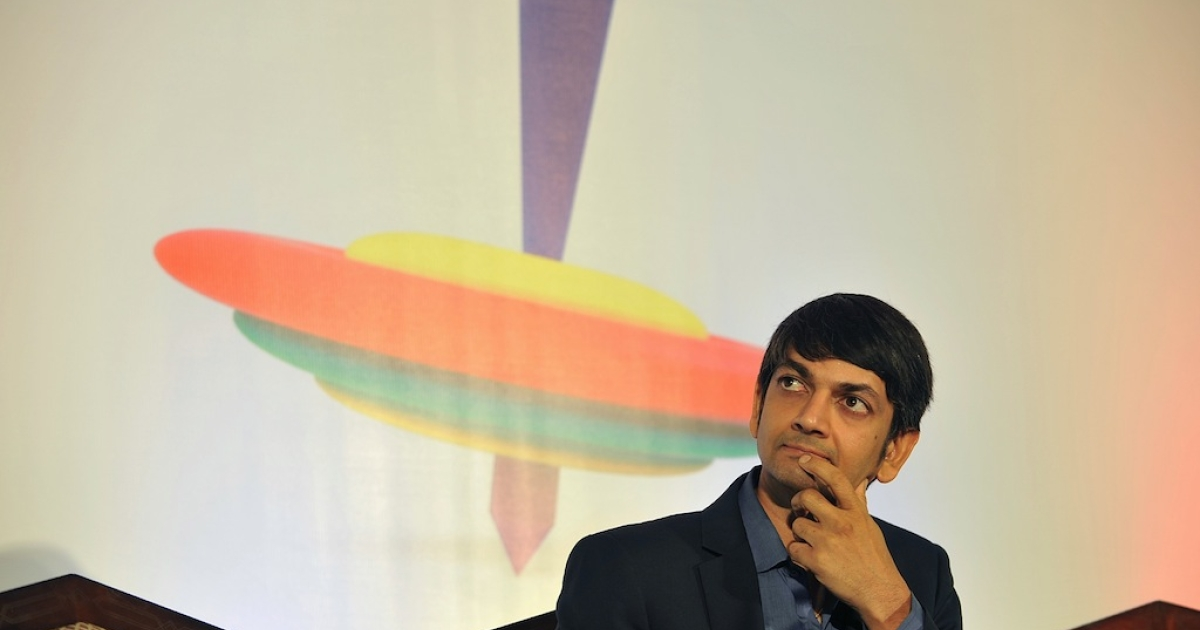 Google India head Lalitesh Katragadda at Innovation Karnataka in Bangalore in March, 2013. Google, Microsoft and other US tech titans are increasingly investing in India's startup scene.</p>