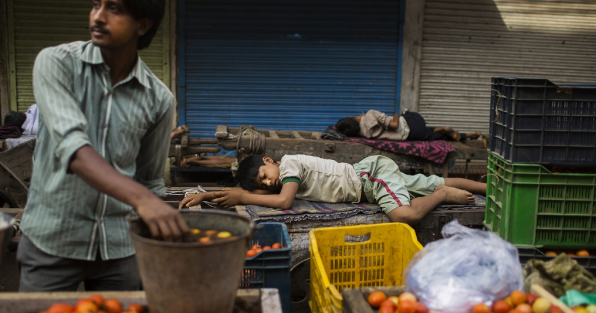 India's economic slowdown might be the result of a lack of foreign investment.</p>