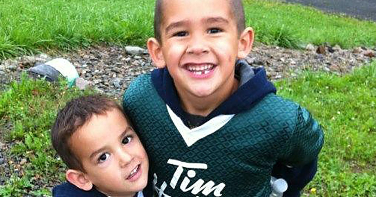 Autopsies on Noah Barthe, four, and Connor Barthe, six, found the brothers from Cambellton, New Brunswick, died of asphyxiation likely from an African rock python, police said on Aug. 7, 2013.</p>