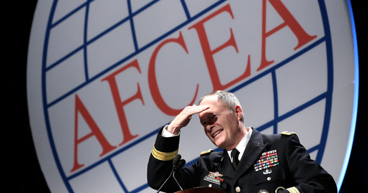 Army Gen. Keith Alexander, director of the National Security Agency, speaks at an Armed Forces International Cyber Symposium on June 27, 2013. The NSA is in the spotlight again after new documents reveal that it consistently broke rules set out by the Fisa court.</p>