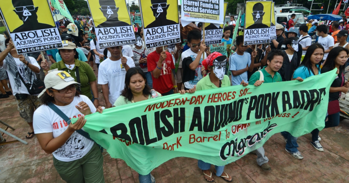"Alleged government corruption has Filipinos furious. These ""Pork Barrel Protests,"