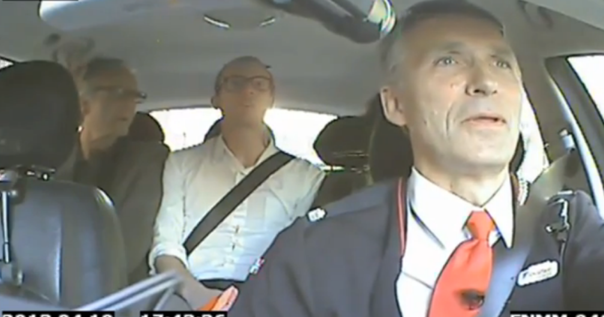 Norway's Prime Minister, Jens Stoltenberg, spent an afternoon posing as a taxi driver in order to hear from Norwegian voters ahead of a tough election season.</p>
