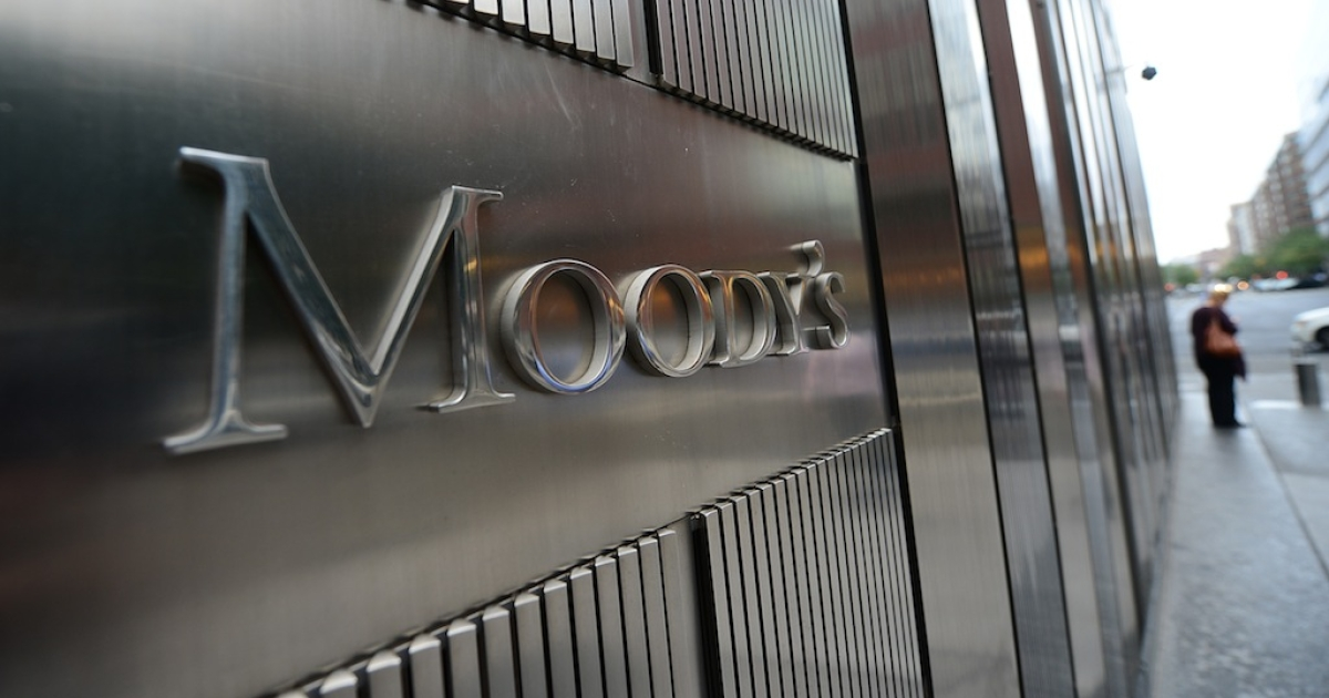 Moody's credit rating agency moved Greece up two places from from C to Caa3 on Friday.</p>