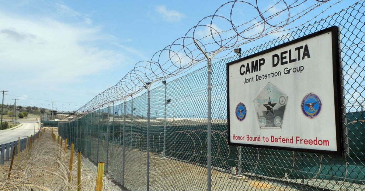 Camp Delta at the US Naval Base in Guantanamo Bay, Cuba on August 7, 2013.</p>