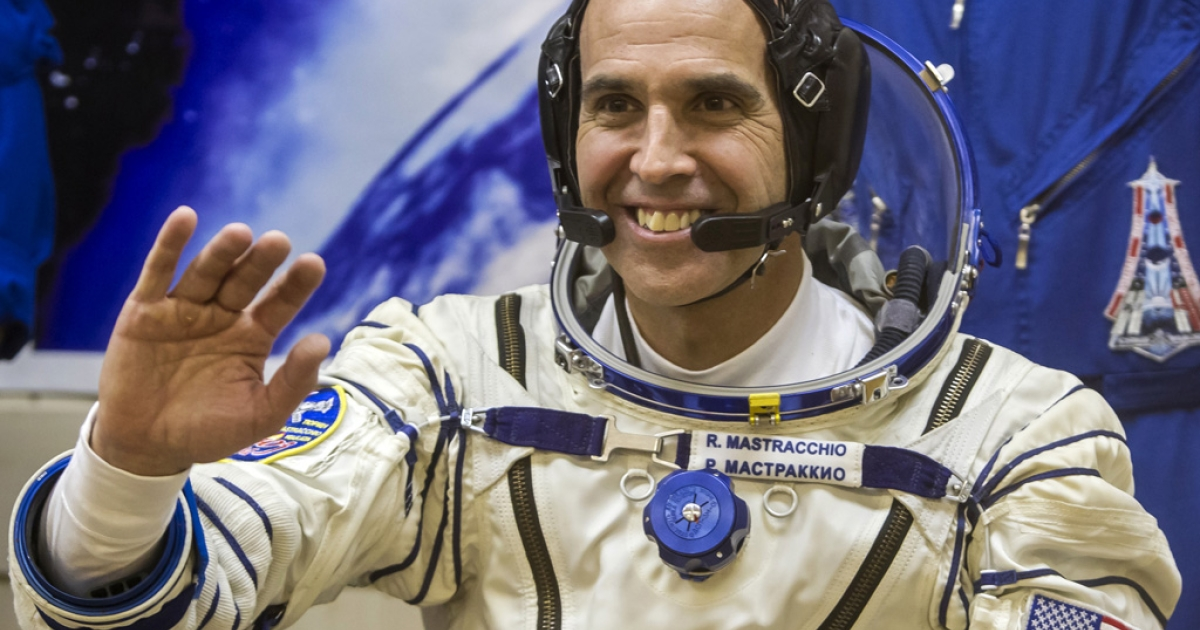 US astronaut Rick Mastracchio on Nov. 7, 2013.</p>