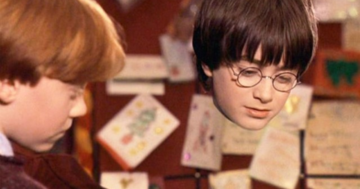 Harry Potter's Cloak of Invisibility in action.</p>