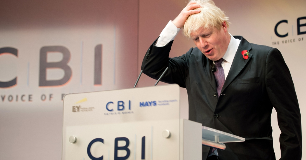 London Mayor Boris Johnson is in a spot of trouble over his IQ remarks.</p>