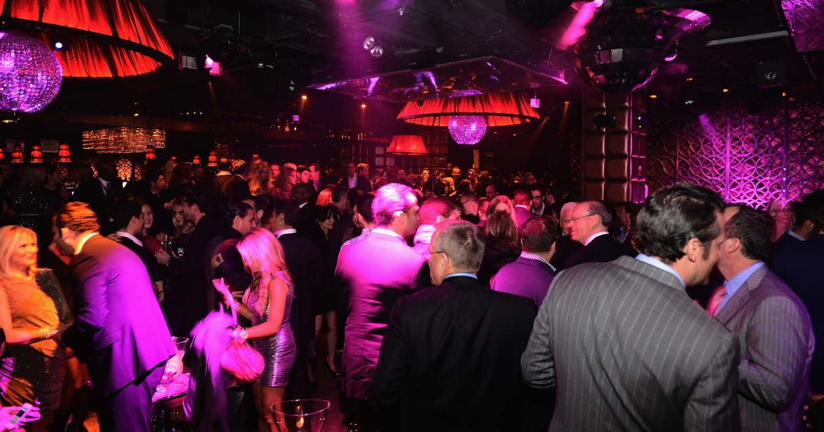 The scene of an after party for the 2012 Victoria's Secret Fashion Show at Lavo NYC on November 7, 2012 in New York City.</p>