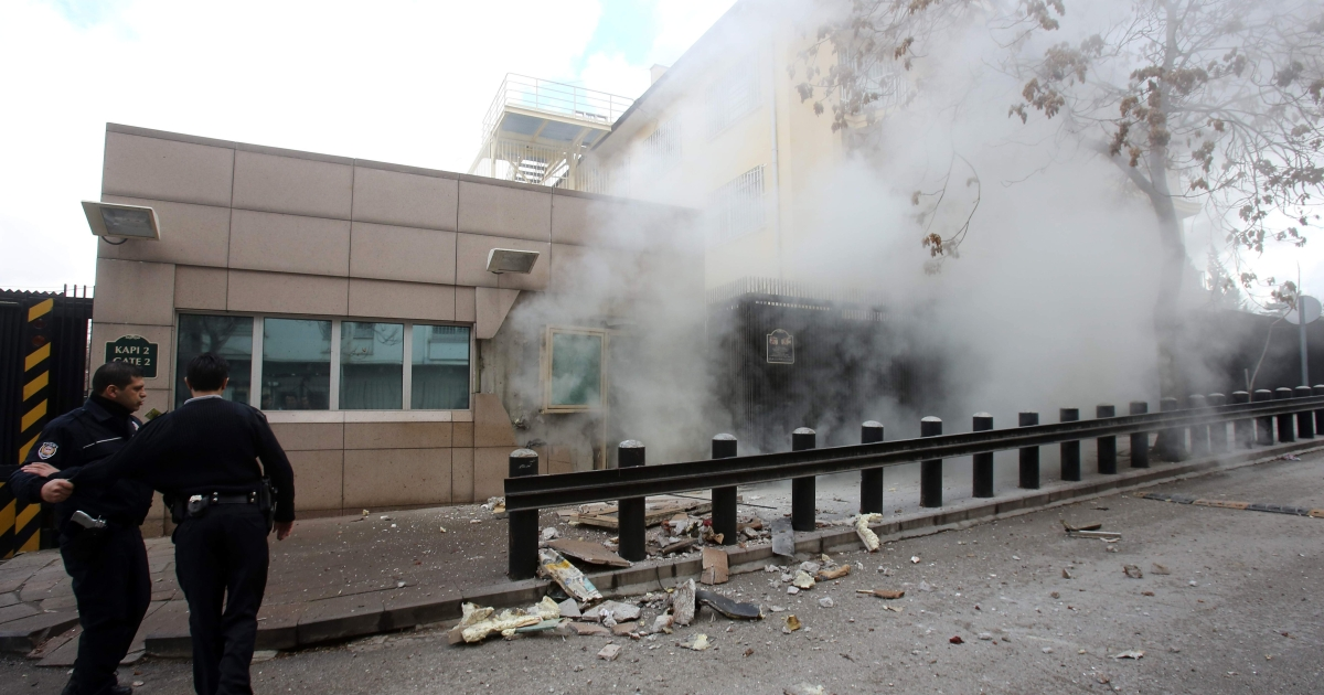 Some believe Friday's blast may have been aimed against Turkey's ruling AK Party.</p>