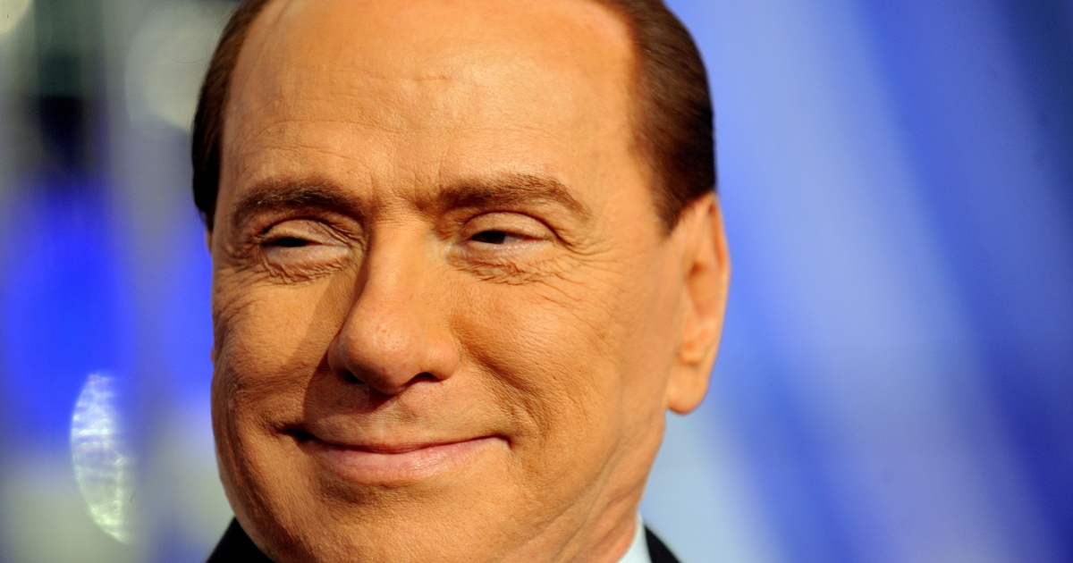Hoping to make a comeback: Many believe former Prime Minister Silvio Berlusconi represents the country's darker side.</p>