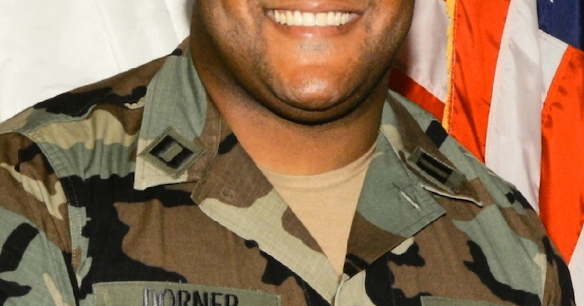 In this handout picture provided by Los Angeles Police Department , the alleged suspect Christopher Dorner is seen on February 7, 2013 in Los Angeles, California. A former Los Angeles police officer Christopher Jordan Dorner, 33, who had allegedly warned he would target law enforcement, is suspected three police officers killing one. Dorner is also a suspect in two weekend killings of Monica Quan and Keith Lawrence who were found dead in a car inside a parking structure.</p>