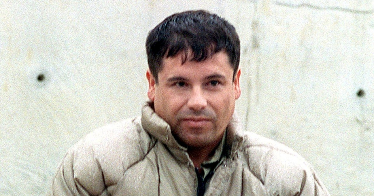 This 10 July, 1993, file photo shows drug trafficker Joaquin Guzman Loera 'El Chapo Guzman' at the Almoloya de Juarez, Mexico, maximum security prison. Mexican authorities announced that Guzman escaped 20 January, 2001, the Puente Grande, Jalisco, maximum security prison.</p>