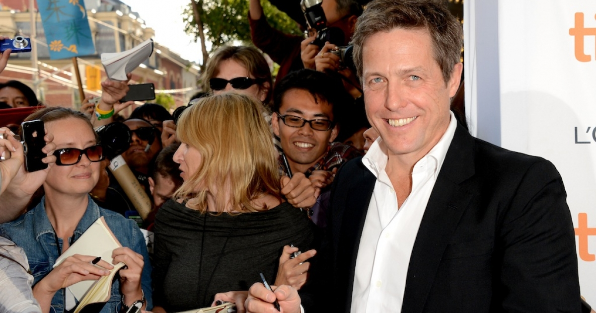 British actor Hugh Grant attends the