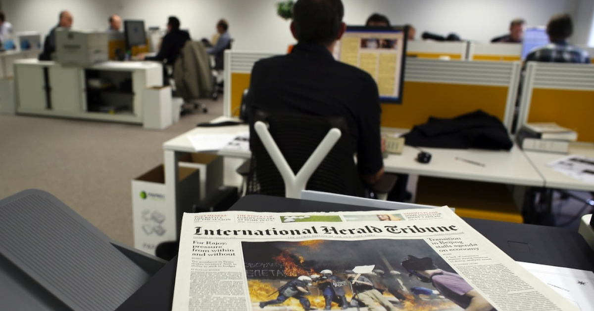 The IHT will debut as the International New York Times later this year.</p>