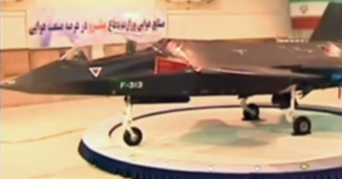 Iran claims it unveiled the Qaher F313 fighter jet. It is the latest jet Iran has unveiled since the Azarakhsh in 2007.</p>