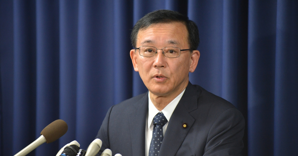 Sadakazu Tanigaki, the Japanese justice minister, announced to media that three hangings had been carried out.</p>