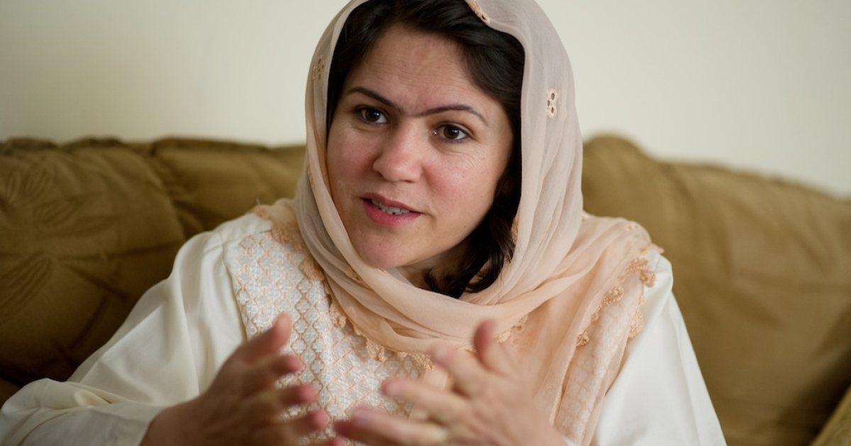 Leading Afghan women's rights champion, author, lawmaker and presidential hopeful Fawzia Koofi spoke with GlobalPost about what the future holds for women in her country.</p>