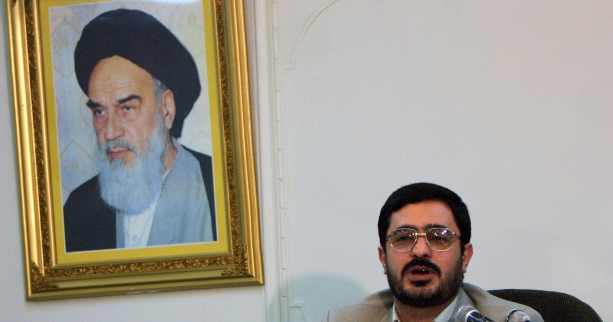 Picture dated December 25, 2002 shows then judge Saeed Mortazavi during the trial of reformist Abbas Abdi in Tehran. Iran's judiciary chief has named hardline Tehran prosecutor Mortazavi, who was behind mass trials of post-election detainees, as deputy prosecutor general, state news agency IRNA reported on August 30.</p>