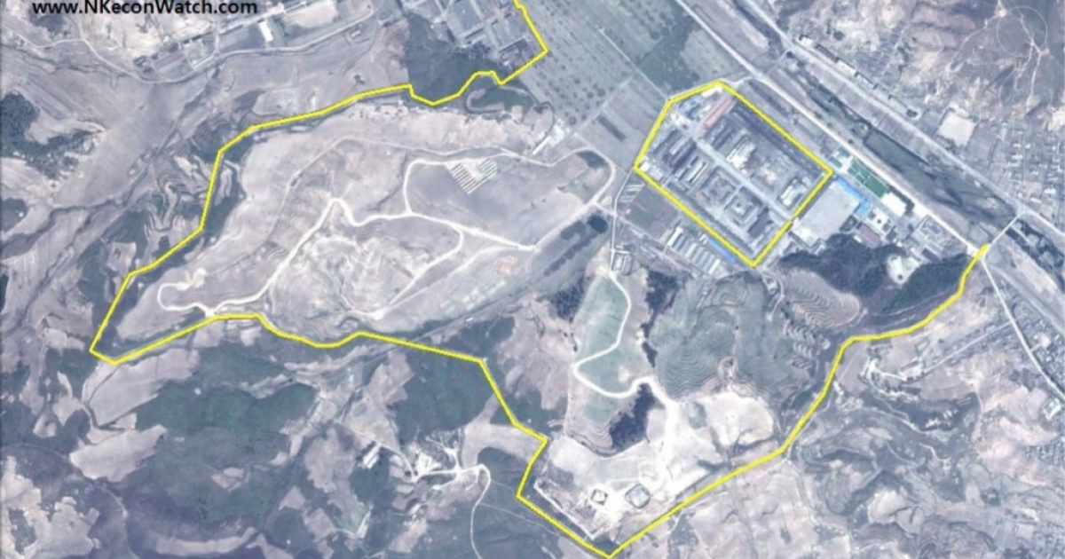 This Google Earth image from the North Korean Economy Watch blog shows the Kwan-li-so 25 labor camp as of May 18, 2012. Blog author Curtis Melvin writes that if you compare this with a 2006 photo of the same area,