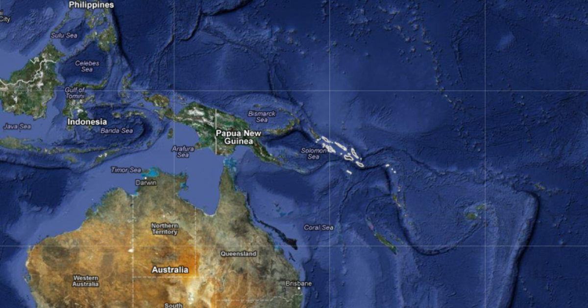 The Solomon Islands</p>