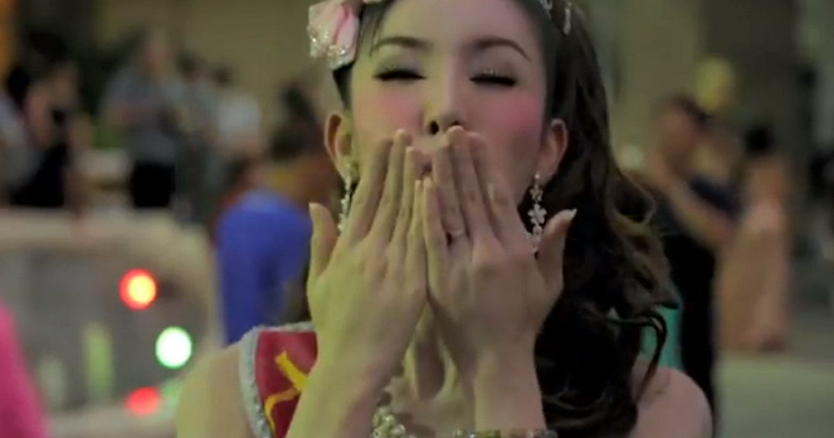 A still image from a transgender-positive campaign video launched by Pongsapat Pongcharoen, a candidate for governor of Bangkok.</p>