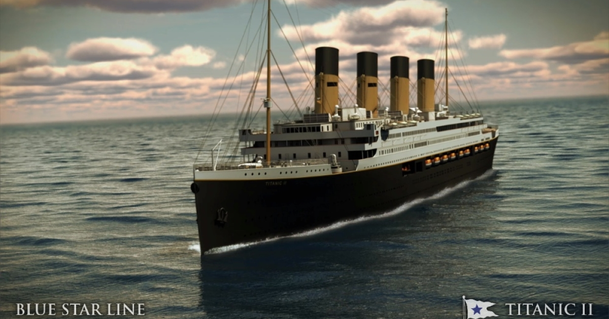 The Titanic II will be a replica of the original ship with some modern additions.</p>