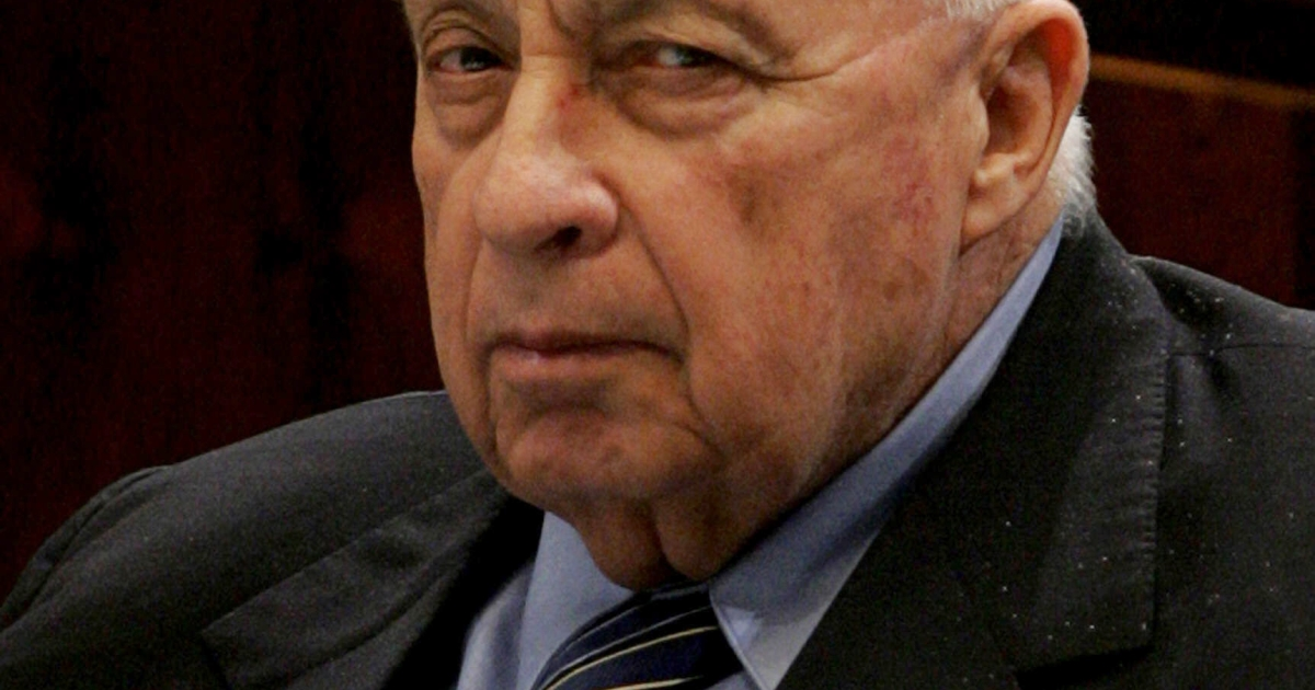 This picture taken on November 23, 2005 shows Israeli Prime Minister Ariel Sharon attending a Parliament session in Jerusalem. Sharon has been in a coma for the last seven years. He has recently been showing signs of life.</p>