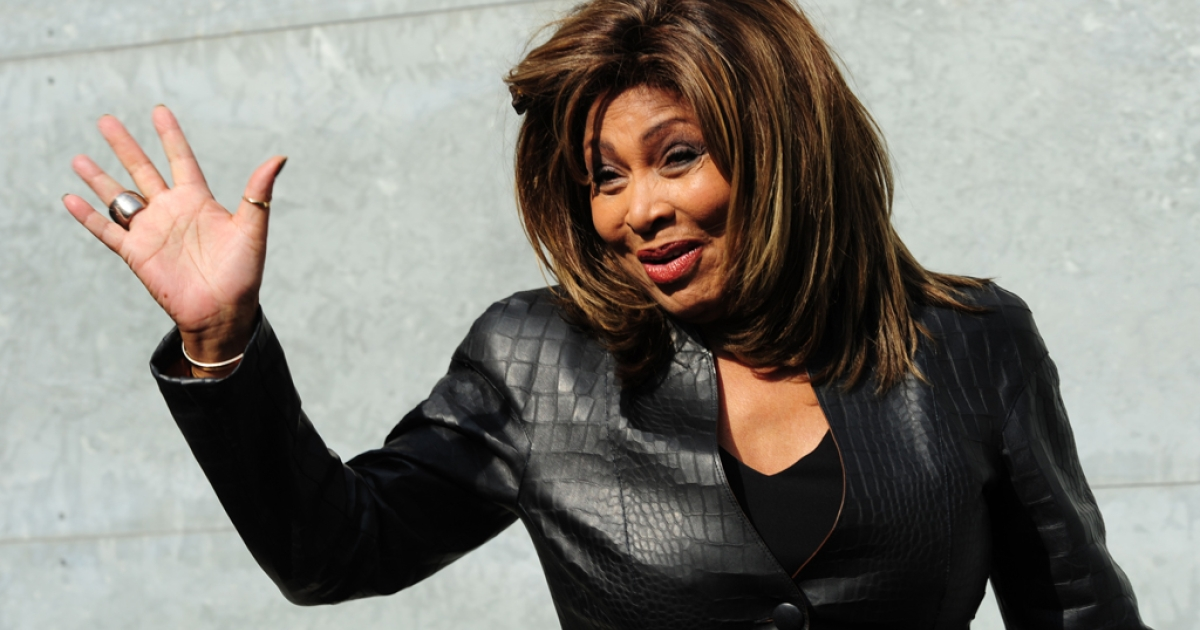 Tina Turner attends the Emporio Armani Fall-Winter 2011-2012 ready-to-wear collection on February 26, 2011 during the Women's fashion week in Milan. Turner is set to become a Swiss citizen in 2013.</p>