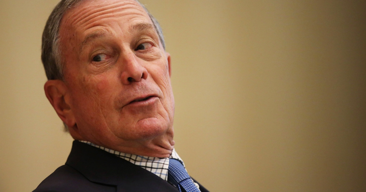 New York City Mayor Michael Bloomberg waits to speak at the North American Board Meeting for the Union for Reform Judaism on May 31, 2013 in New York City. Ricin-laced letters have been sent to Bloomberg and a group, Mayors Against Illegal Guns, which he leads.</p>